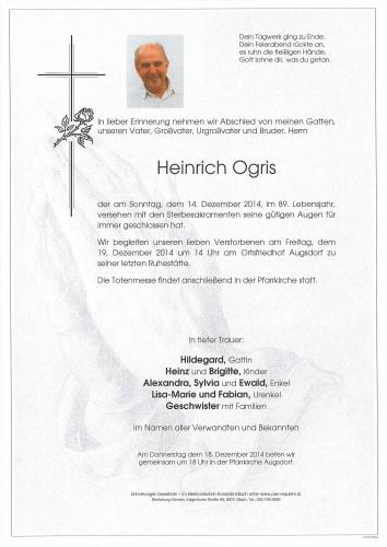 Heinrich Ogris