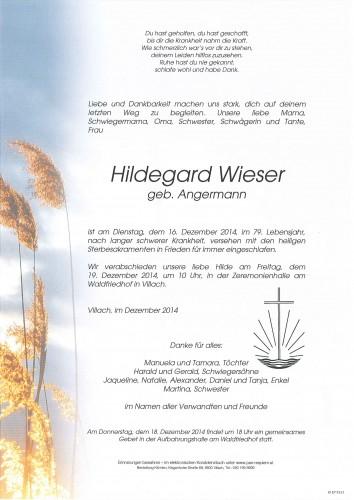 Hildegard Wieser