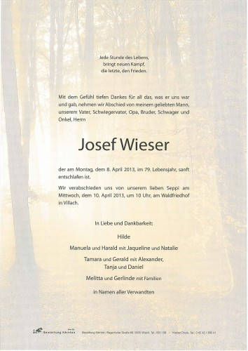 Josef Wieser