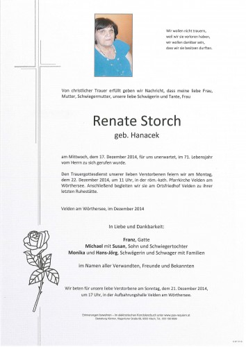 Renate Storch