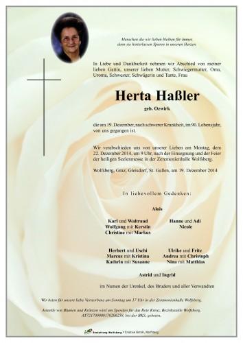 Herta Haßler