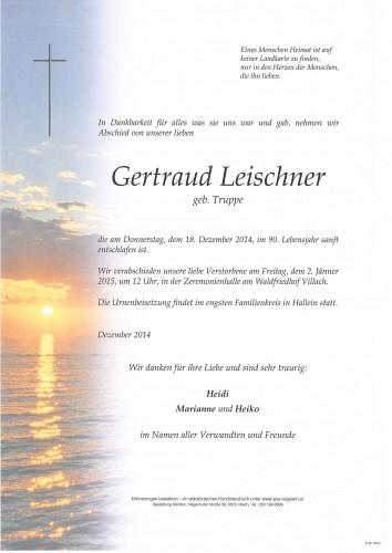 Gertraud Leischner