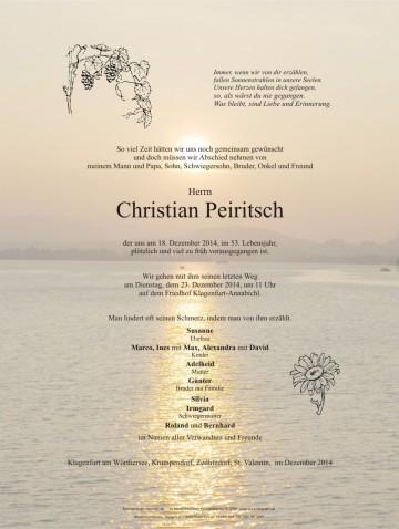 Christian Peiritsch