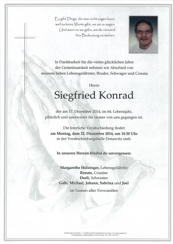 Siegfried Konrad