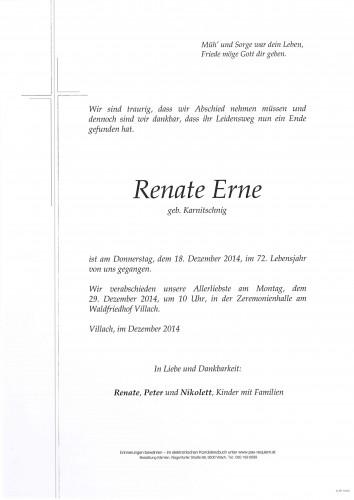 Renate Erne geb. Karnitschnig
