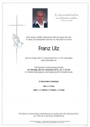 Franz Ulz