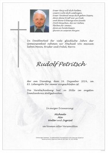 Rudolf Petritsch