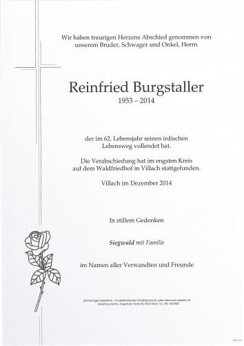 Reinfried Burgstaller