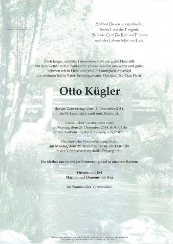 Otto Kügler