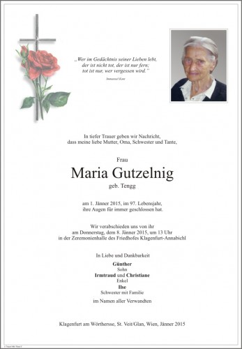 Maria Gutzelnig