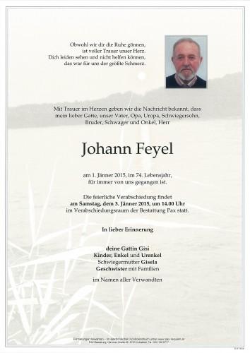Johann Feyel