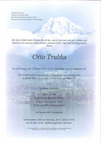 Otto Trubka