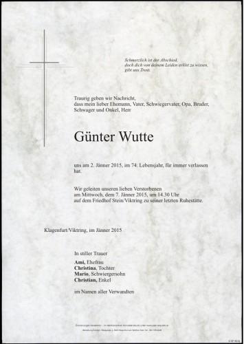 Günter Wutte