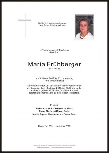 Maria Frühberger