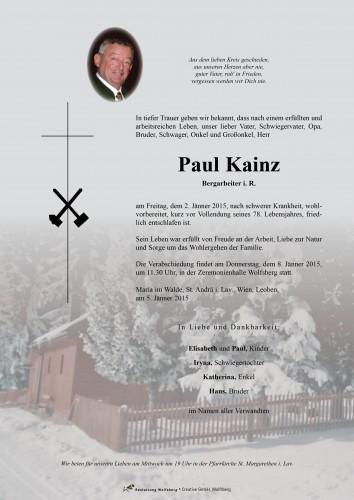 Paul Kainz