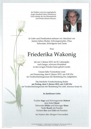 Friederika Wakonig