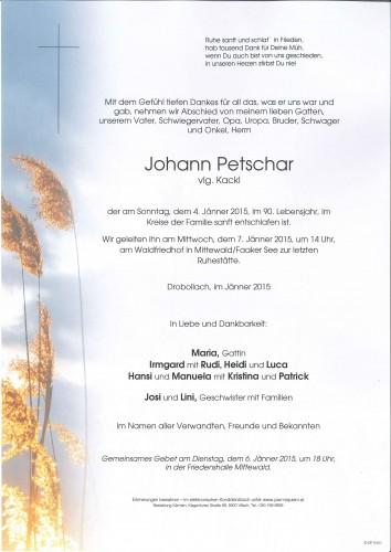 Johann Petschar