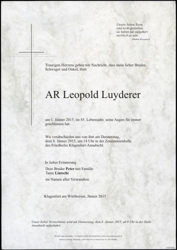 Leopold Luyderer