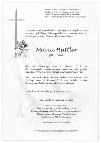 Maria Hüttler
