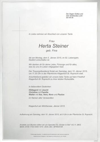Herta Steiner