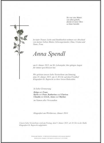 Anna  Spendl