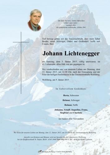 Johann Lichtenegger