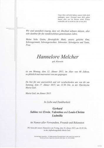 Hannelore Melcher