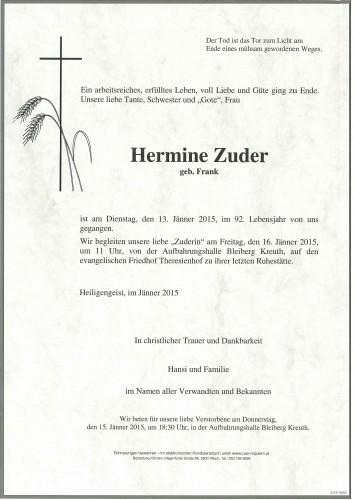 Hermine Zuder