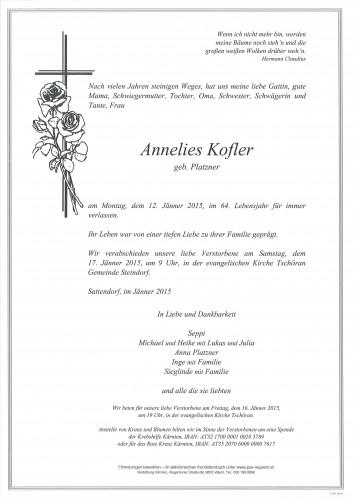 Annelies Kofler