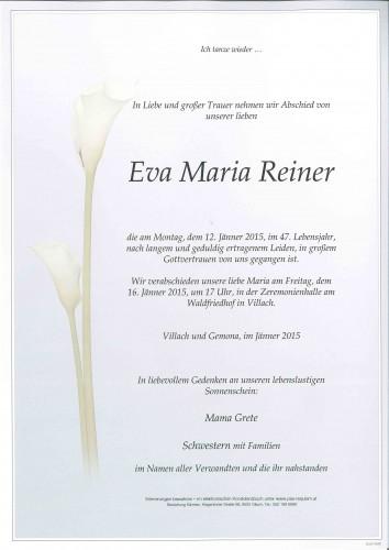 Eva Maria Reiner