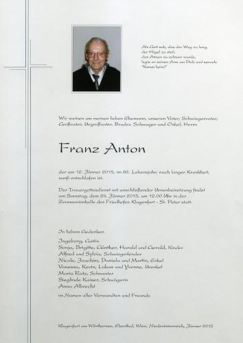Franz Anton