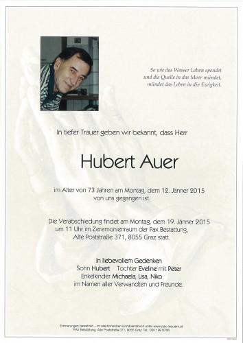 Hubert Auer