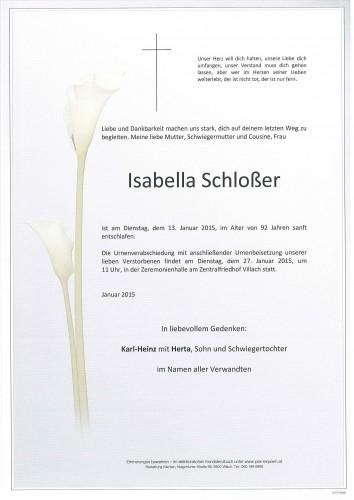 Isabella Schloßer