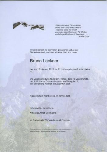 Bruno Lackner