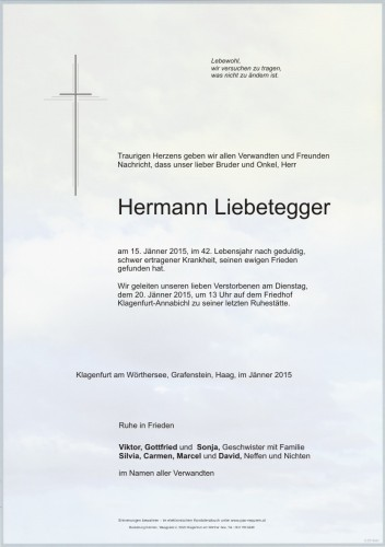 Hermann Liebetegger