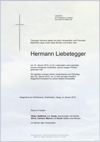 Hermann Liebetegger