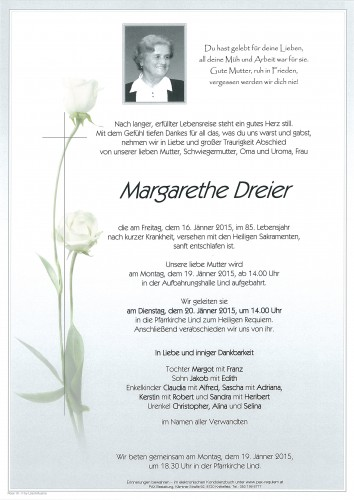 Margarethe Dreier