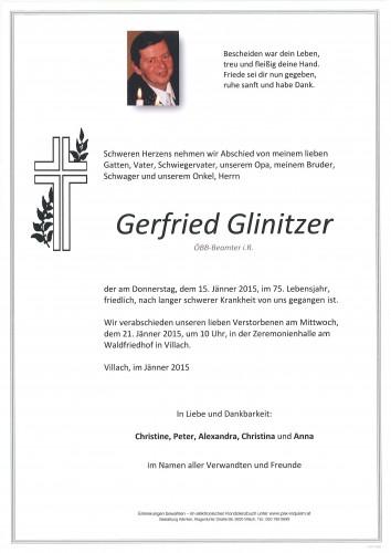 Gerfried Glinitzer