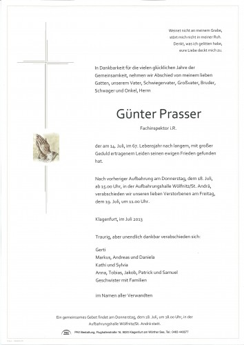 Günter Prasser