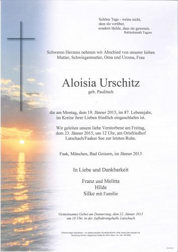 Aloisia Urschitz