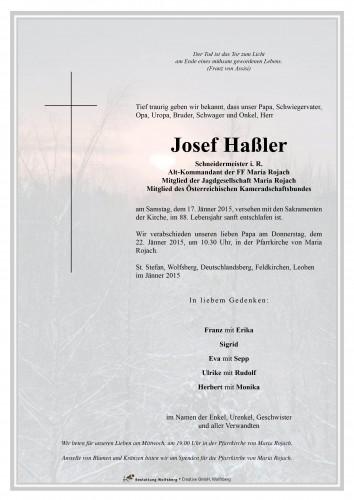 Josef Haßler