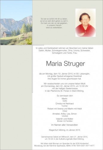 Maria Struger