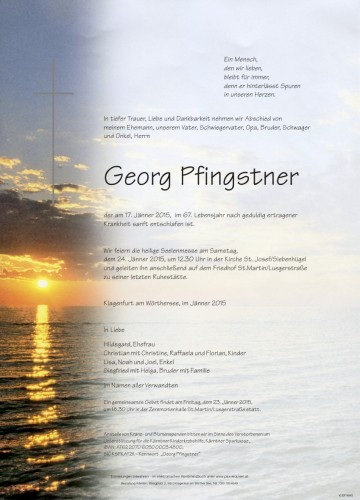 Pfingstner Georg