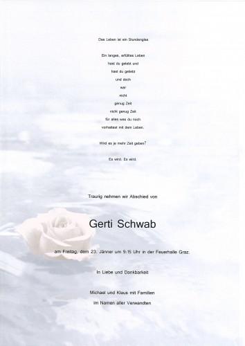 Gertrude Schwab