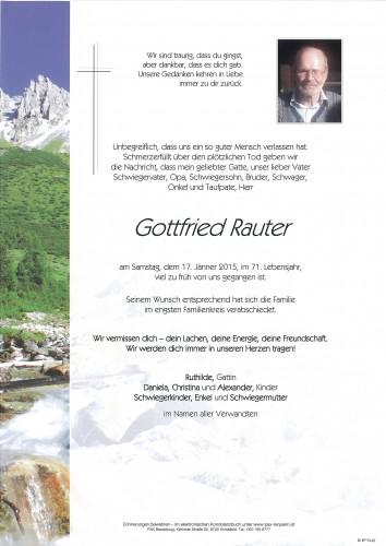 Gottfried Rauter