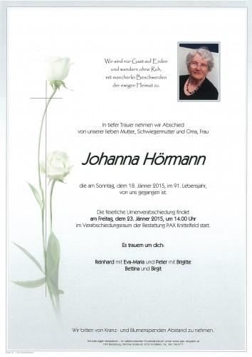 Johanna Hörmann