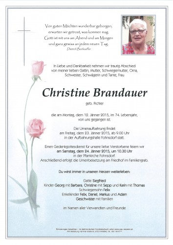 Christine Brandauer