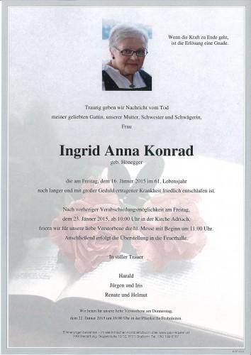 Ingrid Anna Konrad