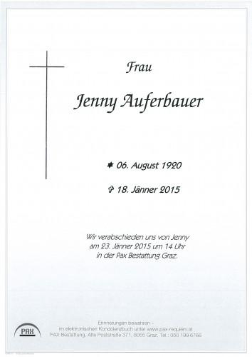 Jenny Auferbauer