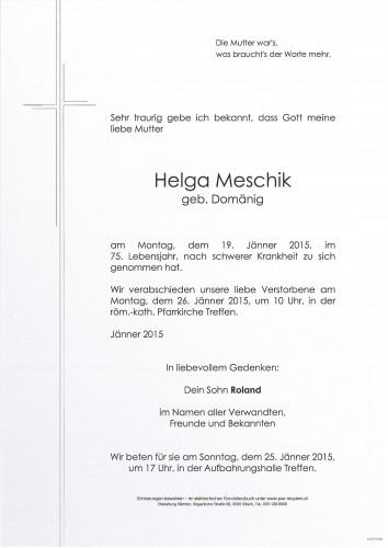 Helga Meschik
